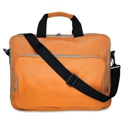 Geanta pentru laptop de 15 inchi, poliester, orange