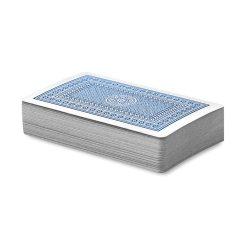 Carti de joc in cutie plastic, Plastic, blue