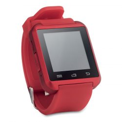 Smartwatch, Plastic, red