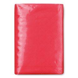 Pachet servetele mici hartie, materiale multiple, red
