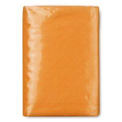 Pachet servetele mici hartie, materiale multiple, orange