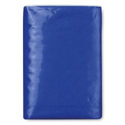 Pachet servetele mici hartie, materiale multiple, royal blue