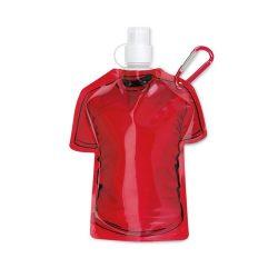 Recipient pliabil pentru apa, Plastic, red