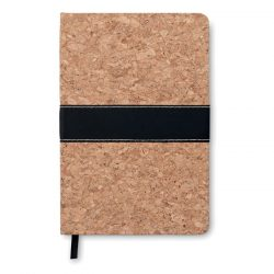 Carnet A5 cu coperta din pluta, materiale multiple, brown