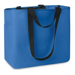 Geanta cumparaturi poliester, royal blue