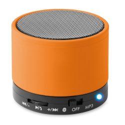 Boxa rotunda Bluetooth, materiale multiple, orange