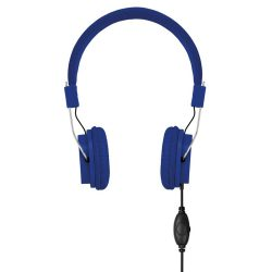 Casti audio, Plastic, royal blue