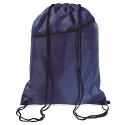 Saculet larg, inchidere cu snur, poliester 190T, Everestus, 8IA19051, albastru