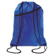 Saculet larg, inchidere cu snur, poliester 190T, Everestus, 8IA19055, albastru royal
