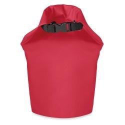 Geanta impermeabila PVC 10L, pvc, Everestus, GS15, rosu, saculet de calatorie si eticheta bagaj incluse