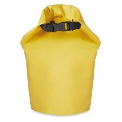 Geanta impermeabila PVC 10L, pvc, Everestus, GS18, galben, saculet de calatorie si eticheta bagaj incluse