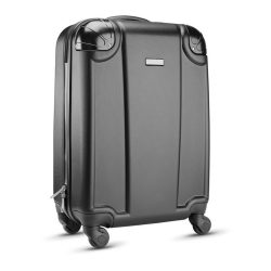Trolley retro din ABS cu 4 rot, ABS, black