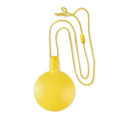 Sticluta cu baloane din sapun, materiale multiple, yellow