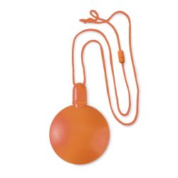Sticluta cu baloane din sapun, materiale multiple, orange