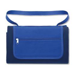 Patura picnic, lana, Everestus, PA10, albastru, saculet de calatorie inclus
