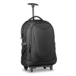 Rucsac trolley, poliester, black