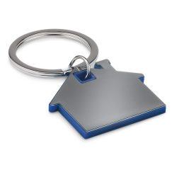 Breloc casa, Everestus, KR0115, plastic, albastru