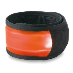 Banda reflectorizanta de brat, materiale multiple, orange