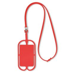 Suport silicon telefon, red