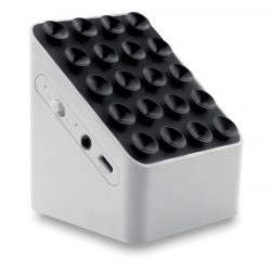 Boxa bluetooth cu suport, ABS, white