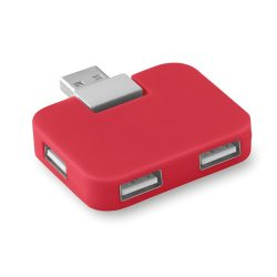 Extensie USB, ABS, red