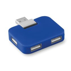 Extensie USB, ABS, royal blue