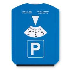 Racleta cu suport de parcare, Polystyrene, blue