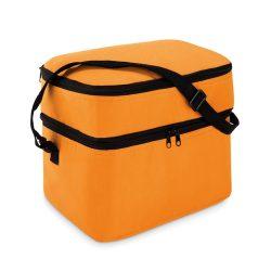 Geanta termoizolanta 2 comp., 600D poliester, orange