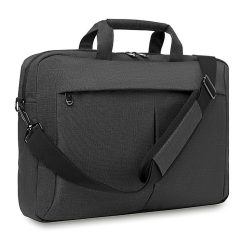 Geanta laptop 360D in 2 nuante, poliester, grey