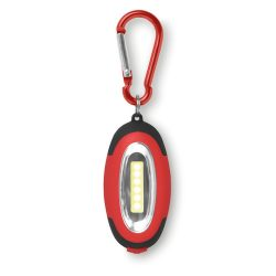 Mini-lanterna cu carabina, materiale multiple, red