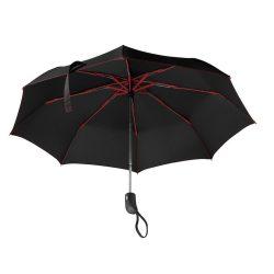 Umbrela pliabila 21 inch, deschidere si inchidere automata, nilon 190T, poliester, Everestus, UP15, rosu