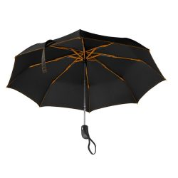 Umbrela pliabila 21 inch, deschidere si inchidere automata, nilon 190T, poliester, Everestus, UP14, portocaliu