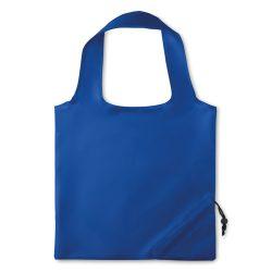 Sacosa pliabila, poliester, royal blue