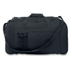 Geanta sport, 600D poliester, Everestus, GS10, negru, saculet de calatorie si eticheta bagaj incluse