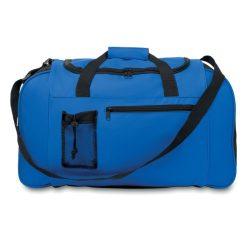 Geanta sport, 600D poliester, Everestus, GS11, albastru royal, saculet de calatorie si eticheta bagaj incluse