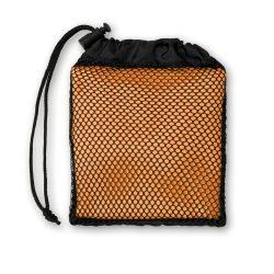 Prosop sport in husa, materiale multiple, orange