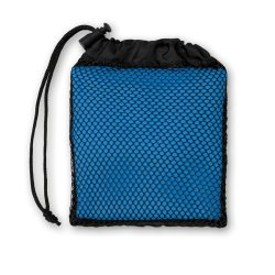 Prosop sport in husa, microfibra, poliamida, 35x80 cm, Everestus, SPF019, albastru royal
