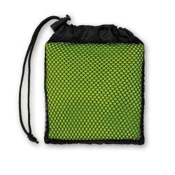 Prosop sport in husa, microfibra, poliamida, 35x80 cm, Everestus, SPF017, verde, saculet sport inclus