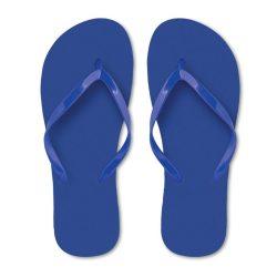 Slapi din polietilena, Plastic, blue, L