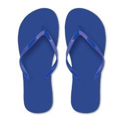 Slapi din polietilena, Plastic, blue, M