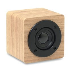 Boxa bluetooth 3W 350 mAh, materiale multiple, wood