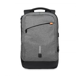 Rucsac si Baterie externa, materiale multiple, grey