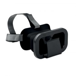 Ochelari VR pliabili, materiale multiple, black