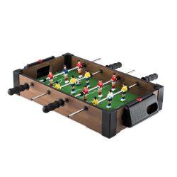 Masa mica de fotbal, lemn, plastic, Everestus, JD2, verde, maro, saculet de calatorie inclus