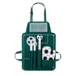 Set Barbeque, 5 piese, 74x50x2 cm, Poliester 600D, Everestus, UG5, verde