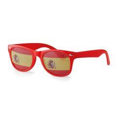 Ochelari de soare fotbal, policarbonat, red