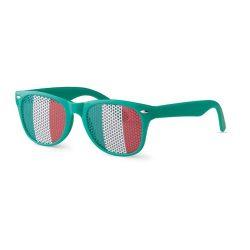 Ochelari de soare fotbal, policarbonat, green