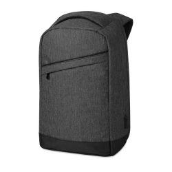 Rucsac cu bretele buretate, compartiment Laptop 13 inch, poliester, Everestus, RU40, negru, saculet si eticheta bagaj incluse