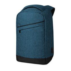 Rucsac cu bretele buretate, compartiment Laptop 13 inch, poliester 600D, Everestus, RU41, albastru, saculet si eticheta incluse