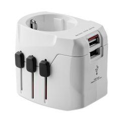 PRO Light USB. 3-pole, materiale multiple, white